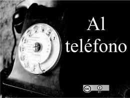 Una llamada telefónica