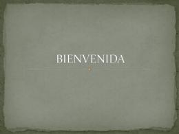 BIENVENIDA - WordPress.com