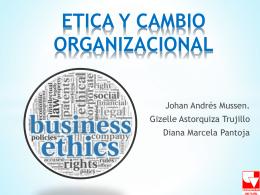 ETICA Y CAMBIO ORG