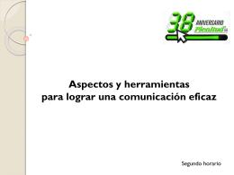 Comunicación. - Revista Plenitud AA