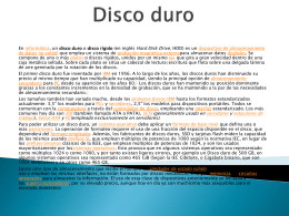 Disco duro - WordPress.com