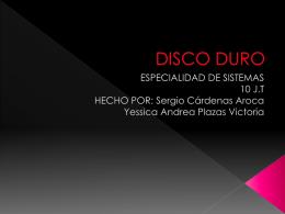 DISCO DURO - wikiestilo