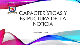 Noticia: estructura