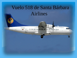 Vuelo 518 de Santa Bárbara Airlines