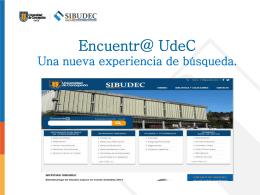 Ayuda - Bibliotecas UdeC