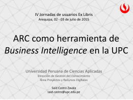 ARC_Business_Int-Sai... - Repositorio Académico UPC