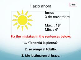 Debes… - Español