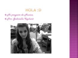 Gabriella - SHSSpanish2022009