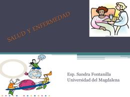 SALUD Y ENFERMEDAD - Salud & Desarrollo Humano