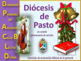 domingo primero de adviento ciclo b lectio divina