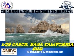 Propuesta XXIII CONEIC 14 Los Cabos BCS