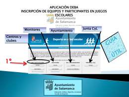 Manual DEBA. Guía útil - Ayuntamiento de Salamanca