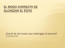 191 Kb - Ministerio Pueblo Deseado