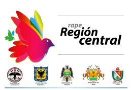 Presentación RAPE Región Central Secretario de Planeación en
