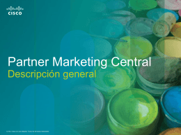 Partner Marketing Central Overview