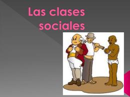 Las clases sociales terminada