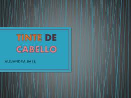 TINTE DE CABELLO 2