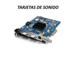 TARJETAS DE SONIDO-Javier Torrijos Cortes - dpe