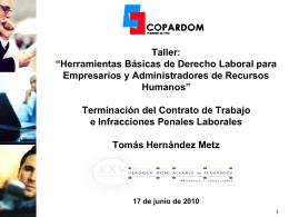 Ponencia Tomás Hernández