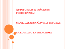 Autoformas e imágenes prediseñadas nicol dayanna Gaviria