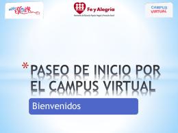 PASEO POR EL CAMPUS VIRTUAL - Aula Virtual