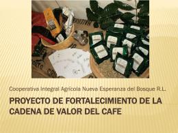 Fortalecimiento De La Cadena De Valor Del Cafe