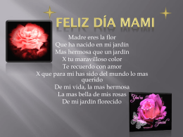Feliz día mami - WordPress.com