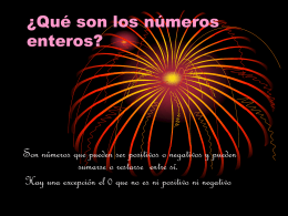 ¿Qué son los números enteros 2?, Elena, Anabel y Maria