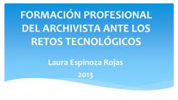 Laura Espinoza Rojas - Archivo Nacional de Costa Rica