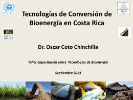 (RAO) en Costa Rica como Fuente Energética