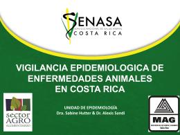 Vigilancia de Enfermedades Animales en Costa Rica