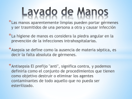 Lavado de Manos 2014 - Liceo Santa Teresa de Jesus