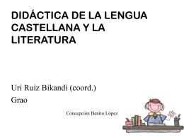 DIDÁCTICA DE LA LENGUA pp - conchibenito