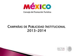 Campañas Institucionales 2013-2014