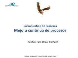 Mejora de procesos post modelación