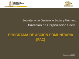 Plan de acción social inmediato en 80 municipios prioritarios