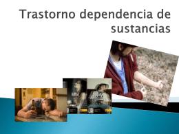 Trastorno dependencia de sustancias cris