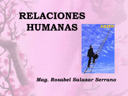 elementos de las relaciones humanas - sub cafae