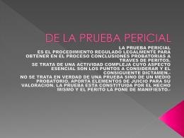 DRA CHEMES CURSO PERITOS