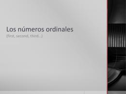 Primero - GT Academy Spanish