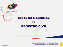 Diapositiva 1 - Consejo Nacional Electoral