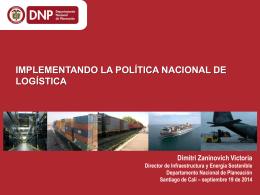 implementación de la Política Nacional Logística