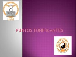 PUNTOS TONIFICANTES