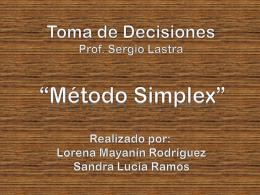 metodo simplex exposicion