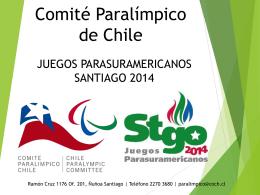 PPT santiago 2014