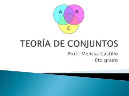 TEORÍA DE CONJUNTOS - Mati