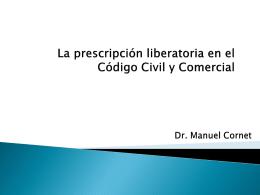 La Prescripción Liberatoria en el Código Civil y Comercial