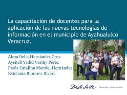 Nuevas tecnologias en ayahualulco ()