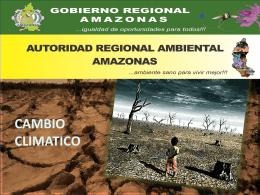 CAMBIO CLIMATICO: DURA REALIDAD