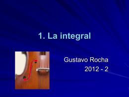 1.1 La integral indefinida - División de Ciencias Básicas